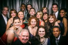 Ragtime cast and Ovation Lead Actress in a Musical Award