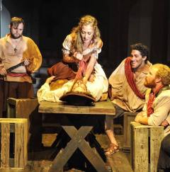 Aldonza in Man of La Mancha
