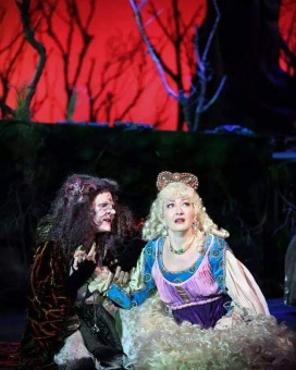 Rapunzel in Into the Woods